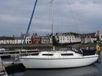 Sailing Yacht Colvic Sailer 26