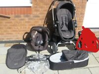 Graco 3 in one pram with raincover