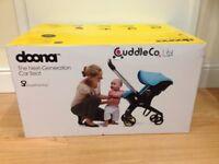 Cuddle Co Doona Car Seat/Stroller Night Black Brand New