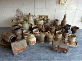 A Very Good collection Of Tremar Pottery
