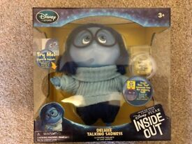 Inside Out Deluxe Sadness Talking Doll