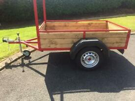 NEW CAR TRAILER 6FT LING 4FT WIDE