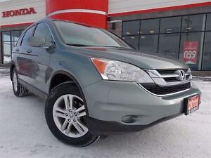 2011 Honda CR-V EX 4X4. Well Maintained w/Remote Start, Sunroof