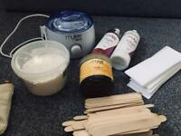 Full waxing kit