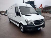 MERCEDES SPRINTER 313 CDI, ON 64 PLATE, LOW MILEAGE LWB, 54K, EXCELLENT CONDITION DRIVES LIKE NEW