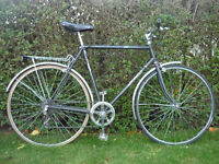 Gents traditional bicycle