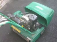 PETROL MOWER SELFPROPELD WITH GRASS BOX £55