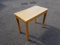 Ikea Bjursta 50-90cm Oak Veneer Exending Table FREE DELIVERY 641