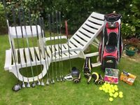 For Sale Cobra Golf Clubs Bag Tees and Balls