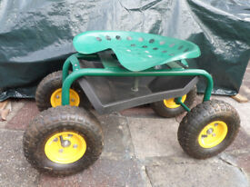 Rolling Garden Work Seat - Hardly Used