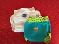 Splash about swim wrap and nappy - cloth reusable size large