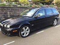2009 Jaguar X Type Diesel sovereign High Spec,Full Beige Leather seats,FSH