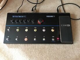 Reduced! Line 6 Firehawk FX - just 7 months old, boxed and as new condition!