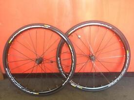 Mavic Ksyrium disc wheels 6 disc bolt Brand New Yksion Elite Tyres