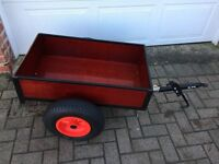 BERG Trailer base with tipping trailer for Go Kart
