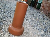 "Clay to plastic 6"" soil pipe adaptor"