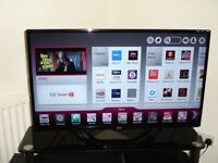 LG 39 Inch Full HD Edge LED Smart Television, FreeviewHD, WiFi, USB Play