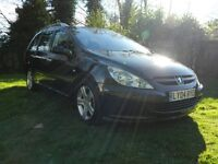 2004 Peugeot 307 SW SE 1.6 HDi 12 Months MOT Just Serviced New Clutch