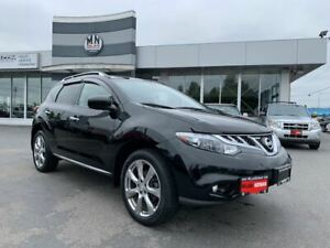 2012 Nissan Murano Platinum LE AWD Navi Sunroof Only 60KM