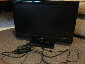 DGM 24 inch flat screen LED/HD TV with Freeview and DVD drive