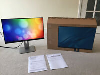 Like New Perfect Dell U2414H - Warranty until May 2018 - Super Thin bezel 24 inch LED PC Monitor