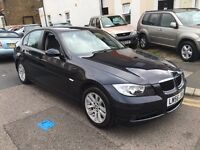 BMW 320i 2.0 AUTOMATIC 2007 LOW MILEAGE LEATHER SEATS FULL SERVICE HISTORY ELECTRIC FOLDING MIRRORS