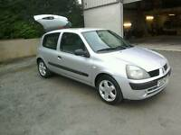 05 Renault Clio 1.2 Rush 3 door Moted Oct 2017 ( can be viewed inside anytime)