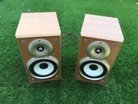 KENWOOD speakers 30watts in very good condition
