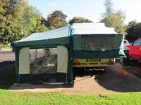 Pennine 535 SE Pullman, Folding Camper Tent