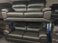 New/Ex Display ScS Leather 3 + 2 + 1 Seater Sofas