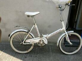 Folding bike universal unisport 3 speed