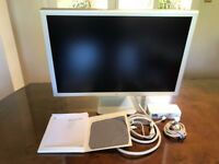 """Boxed Apple Cinema Display A1083 30"""" Widescreen Ultra Monitor A1098"""