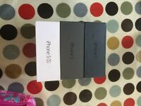 iPhone 5S & 5 Boxes like New