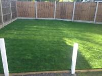 Artificial grass supplied and fitted