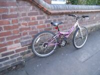 Girls Bike suit 8-12 year or Short Lady