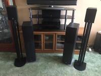 Home theatre surround sound system