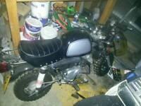 Onroad 125cc monkey bike