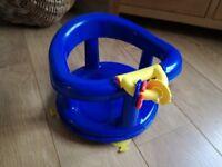 Baby bath seat - swivel chair