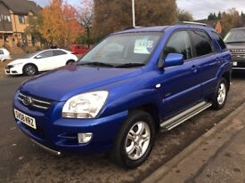 KIA Sportage 2.0 XS 4WD 5dr - 1 Former Owner. 5 Stamps.