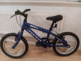 Ridgeback MX 16, Blue, 12 inch wheels - would suit 4-7 year old