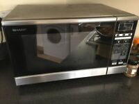 Microwave combo oven and grill