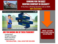 Roofing Contractor Calgary 587-333-0253