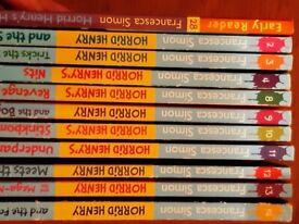 10 horrid henry books plus 1 Early Reader