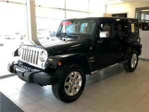 2017 Jeep WRANGLER UNLIMITED Sahara*DEMO* Only 2815 Kms*