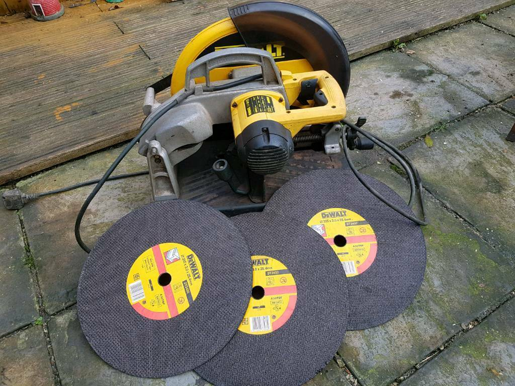 Dewalt dw872 metalica chop saw