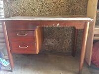 Solid Wood Teacher's Desk Project