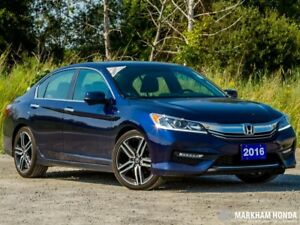 2016 Honda Accord Sport 6MT **HONDA DEMO** ACCIDENT FREE|BACKUP