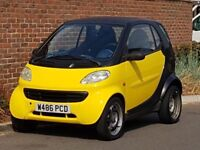 Smart Pure (LHD) LEFT HAND DRIVE - 2000/W REG - GENUINE 68K - FSH - 1 LADY OWNER FROM NEW - YELLOW +
