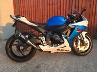 STUNNING 2013 GSXR 750 L3 - IMMACULATE CONDITION - PRICE REDUCED - (PX GSXR 1000, R1, BMW 1000rr)