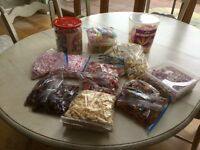 Bargain large selection of sweets ideal for wedding/parties